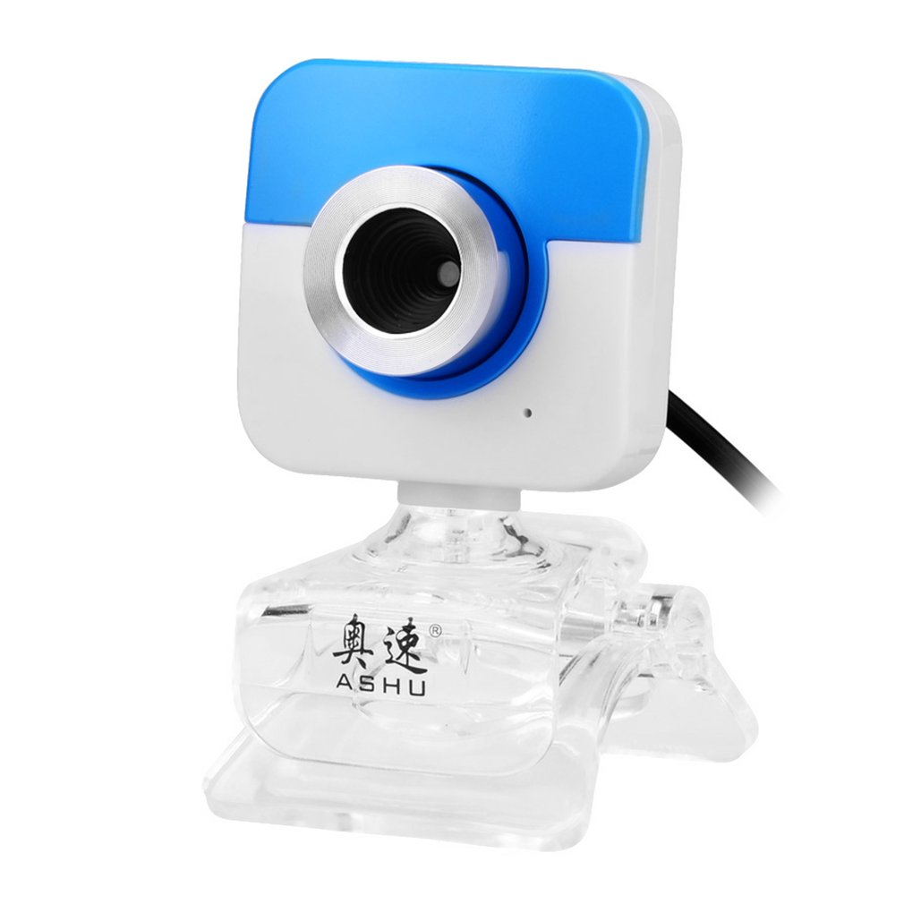 ASHU X10 High Definition USB 2.0 Computer Camera 3.0MP Drive-free With Laptop Clip Video Head with Microphone