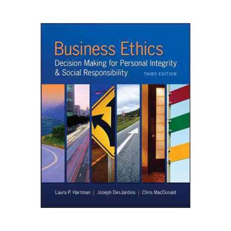 business ethics and social responsibility pdf