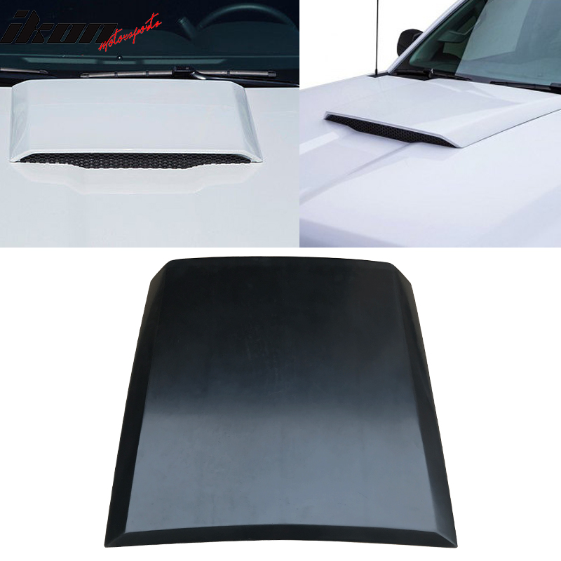 Fits 14-15 Chevy Silverado 1500 PUR Hood Scoop Vent Bonnet Cover