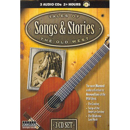 Tales of the Old West Songs & Stories - 3 Audio CD's - Listen at Home or in Car - Legends & Lyrics of American - Halloween Song Jack Lyrics