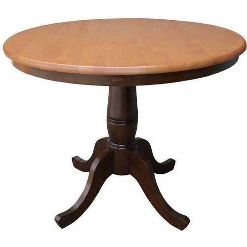 "36"" Round Top Pedestal Table, 30""H"