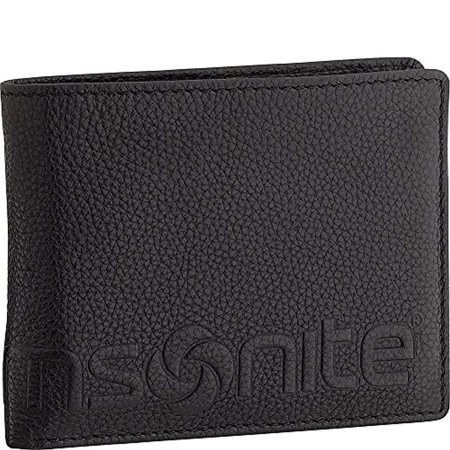 Samsonite- Leather Travel Accessories RFID Credit Card Billfold (Black) ()