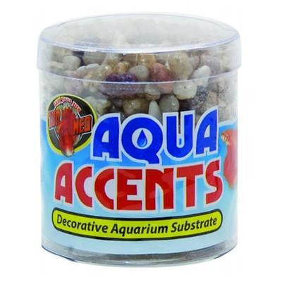 Garden Zoo Med Laboratories Aqua Accents Pebbles 0.5 Pound Light River BA-2 Water Pond [Istilo225613] by GSS
