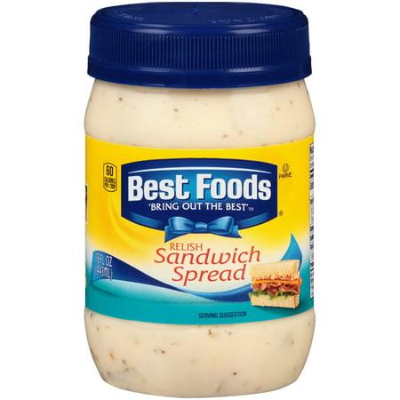 (2 Pack) Best Foods Sandwich Spread 15 Ounce