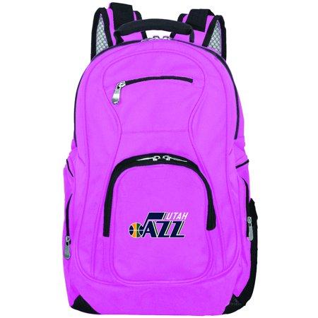 NBA Utah Jazz Pink Premium Laptop Backpack (Utah Business Week)