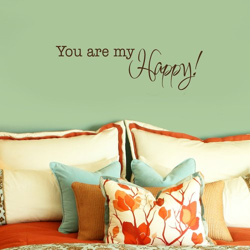 Fireside Home You are My Happy! Wall Decal