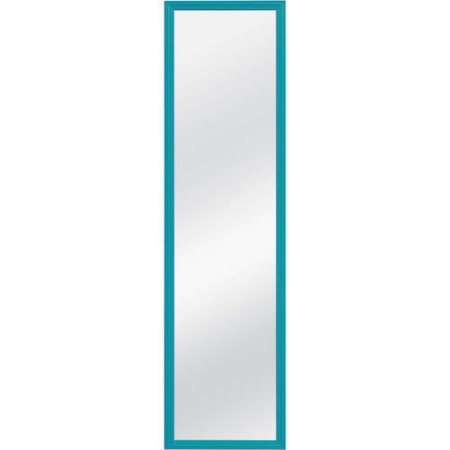 Over The Door Mirror Walmart.Mainstays 14 25 X 50 25 Mint Over The Door Mirror