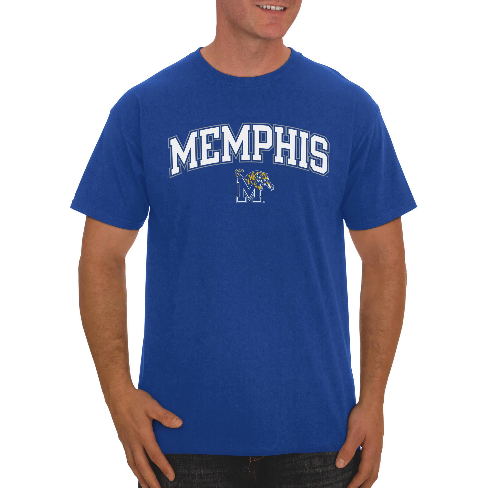Russell NCAA Memphis Tigers Men's Classic Cotton T-Shirt