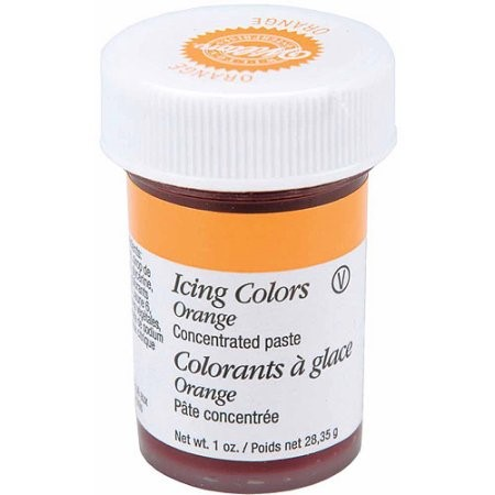 Wilton Icing Color, Orange, 1 oz.
