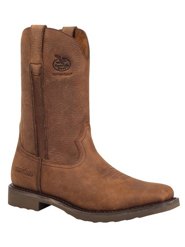 "Georgia Boot Work Mens 11"" Wellington Carbo Tec 12 M Dogwood G006 by Georgia Boot"