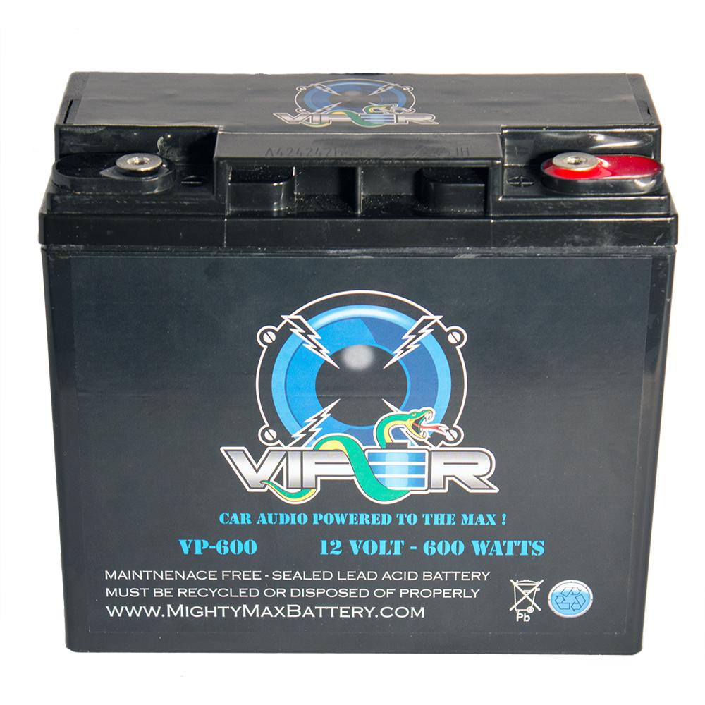Viper VP-600 600 Watt Car Audio Battery for PHOENIX Gold 400.2