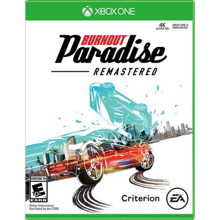 Burnout Paradise Remastered, Electronic Arts, Xbox One,