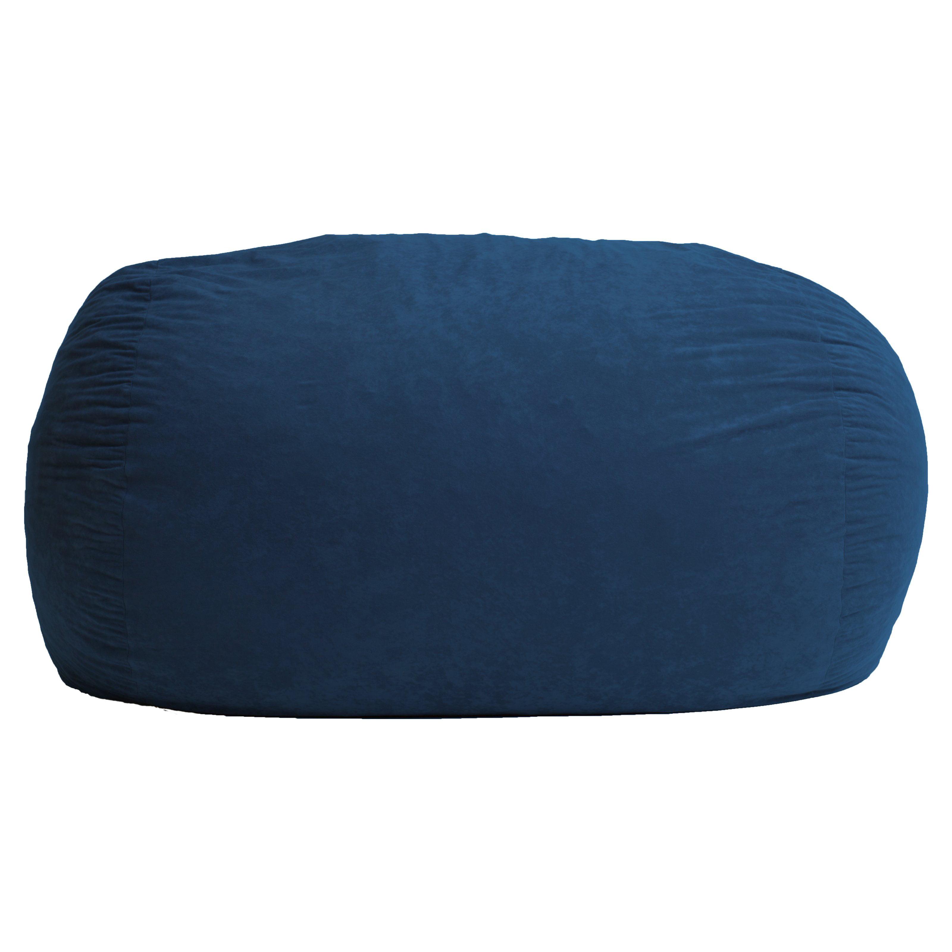 XL Comfort Suede Bean Bag Sofa   Walmart.com