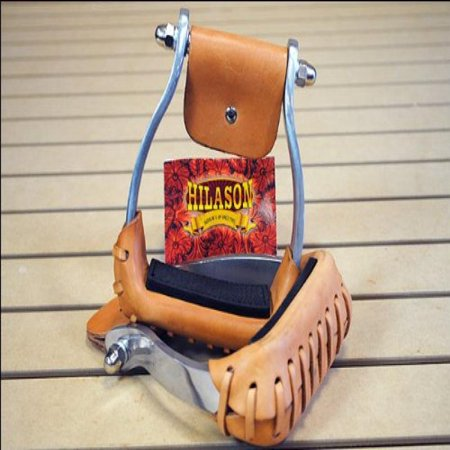 Barrel Racer Horse - Hilason Western Horse Tack Aluminum Barrel Racer Saddle Stirrups