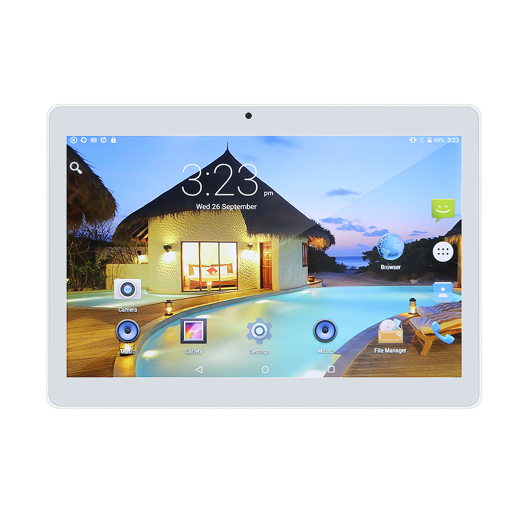 """10"""" Tablet PC, Android 6.0 , Octa Core Processor, 4GB Memory, 64GB Storage, 8 Cores Dual Cameras 5.0MP 1280*800 IPS"""