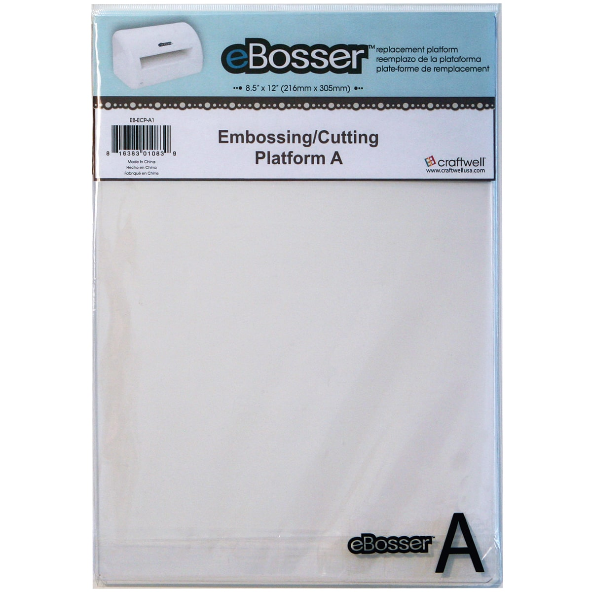 Craftwell eBosser Embossing & Cutting Platform A-