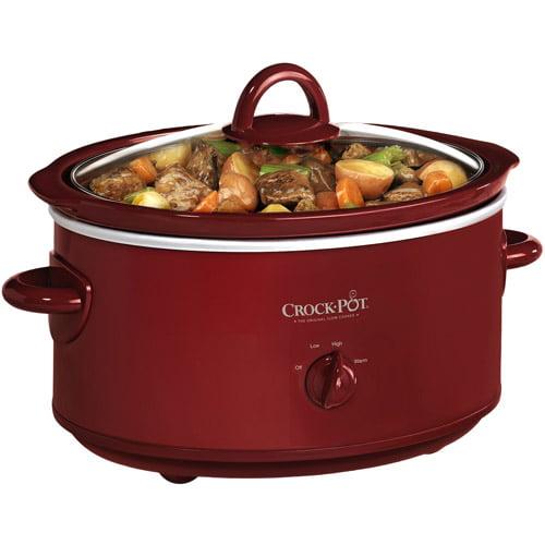 Crock-Pot Slow Cooker, Red