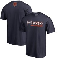 484a0e5aa45 Product Image Chicago Bears NFL Pro Line by Fanatics Branded Monsters  T-Shirt - Navy