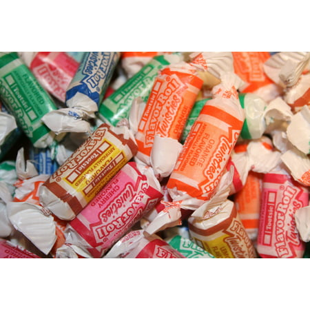 BAYSIDE CANDY TOOTSIE FRUIT ROLL, 1LB (Tootsie Roll Colors)