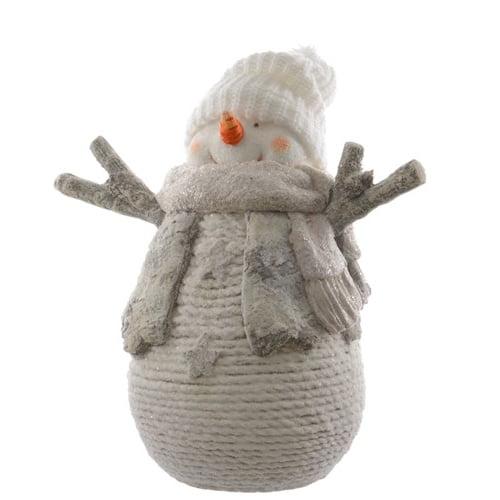 Snowy Birch Snowman