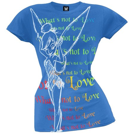 Tinkerbell - Love Juniors T-Shirt - Tinkerbell Items For Adults