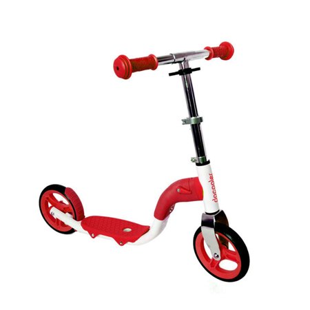 Docooler Scooter Height Adjustable Mini Scooter Toddler Kids Child 2 Wheel Ride On Scooter Bike with Folding Handle and Seat