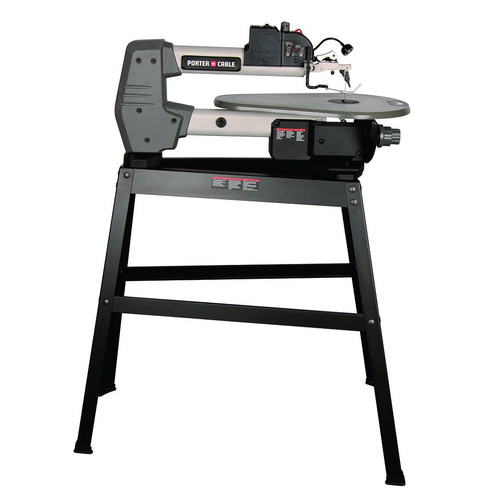 Porter-Cable PCB375SS 1.6 Amp 18 in. Variable Speed Scroll Saw with Stand by