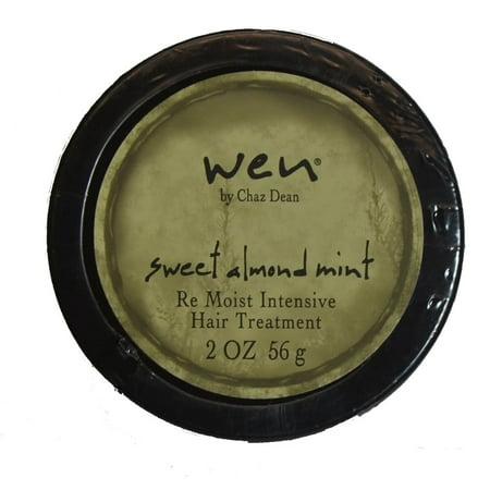 WEN  Sweet Almond Mint Re Moist Intensive 2-ounce Hair Treatment
