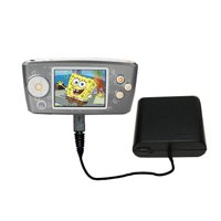 Portable Emergency AA Battery Charger Extender suitable for the Nickelodean Spongebob Squarepants Multimedia Player - with Gomadic Brand TipExchange T