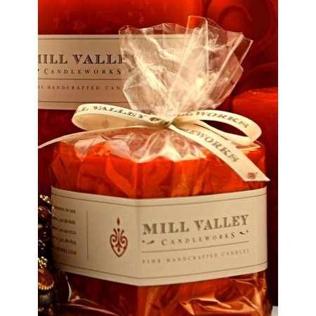 Mill Valley Candleworks Red Currant Scented Novelty Candle