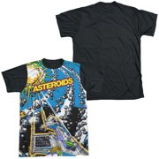 Atari - Asteroids All Over - Short Sleeve Black Back Shirt - X-Large