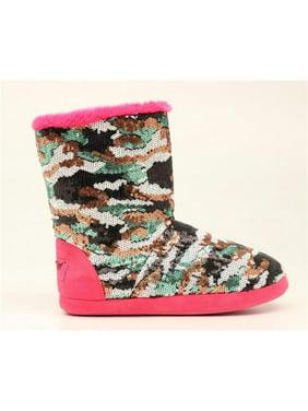 5f781ac42408 Product Image Blazin Roxx 5717429-S Ladies Camo Sequin Boot Slippers