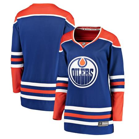 Edmonton Oilers Fanatics Branded Women's Alternate Breakaway Jersey - Royal