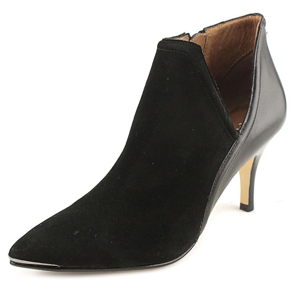 Donald J Pliner Taila-Ks Women Pointed Toe Suede Black Bootie by Donald J Pliner