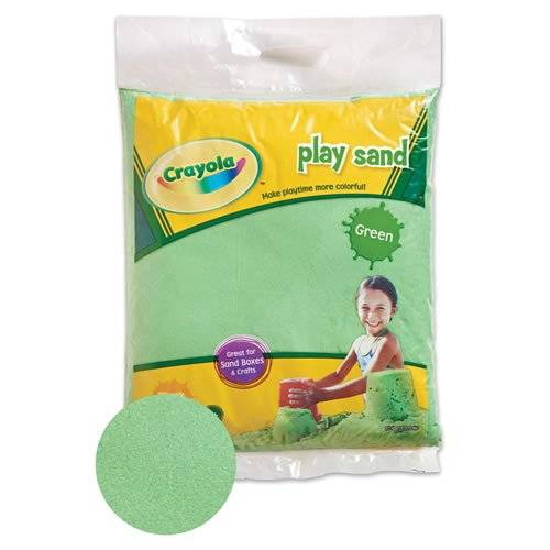 Crayola Colored Play Sand Green, By Constructive Playthings
