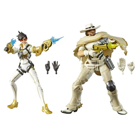 Overwatch Ultimates Series Posh (Tracer) and White Hat (McCree) Skin Dual Pack ()