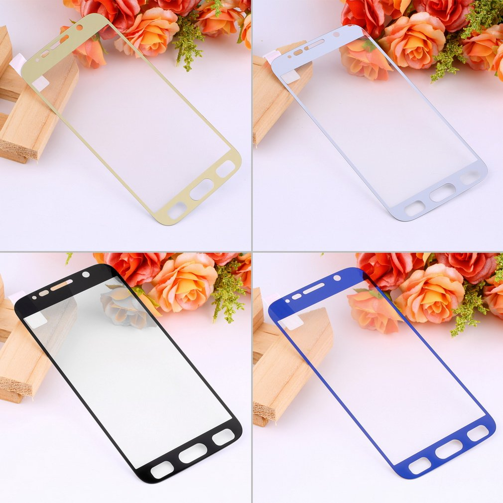 9H Full Cover Tempered Glass Screen Protector Film for Samsung Galaxy S6