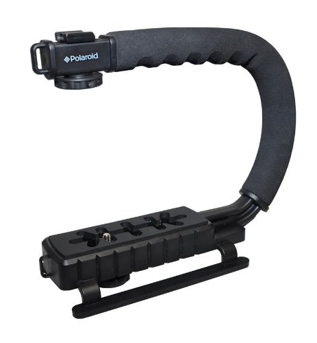 Sure-GRIP Professional Camera / Camcorder Action Stabilizing Handle Mount For The Sony Alpha NEX-C3, 7, 6, 5N, 5R, 5T, 5, 3, 3N, F3, SLT-A33, A35,.., By Polaroid,USA