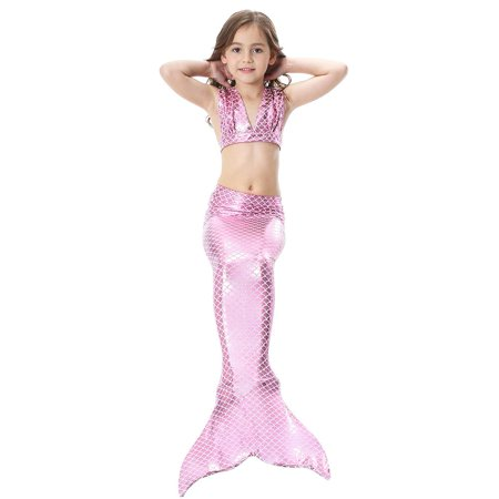 9cabaf7787 HURRISE - Girls Mermaid Swimming Suit