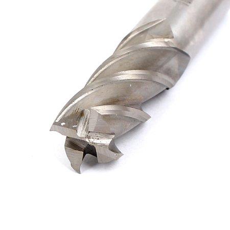 16mm Shank 16mm Cutting Dia 4 Flutes Spiral HSS End Mill Cutter - image 1 of 3