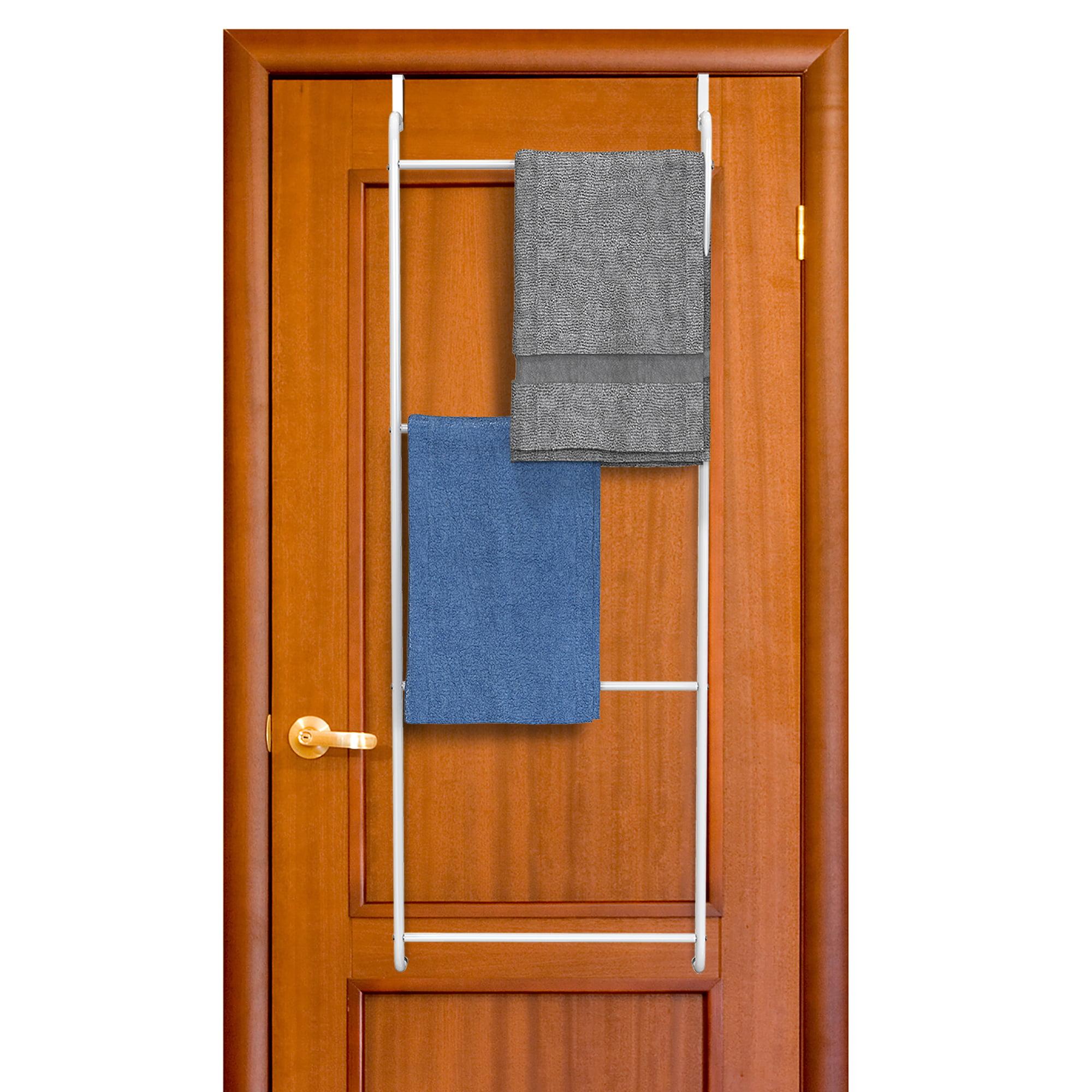 Over The Door Towel Rack Bathroom Or Shower Door 4 Bar