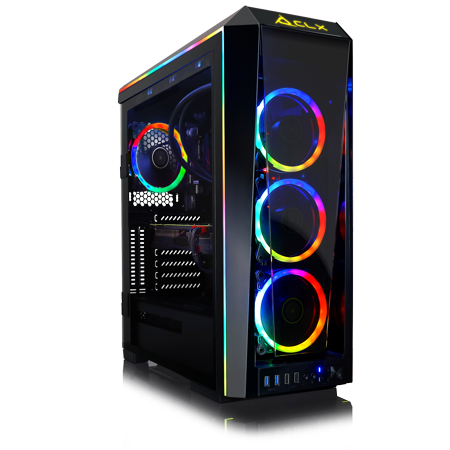 CLX Set GAMING PC Intel Core i9 9900K 3.60 GHz (8 Core) 16GB DDR4 3TB HDD & 960GB SSD NVIDIA RTX 2080 Ti 11GB GDDR6 MS Windows 10 64-Bit