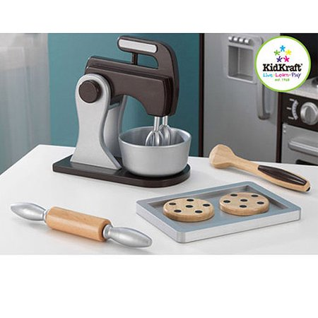 KidKraft Wooden Baking Set - Espresso