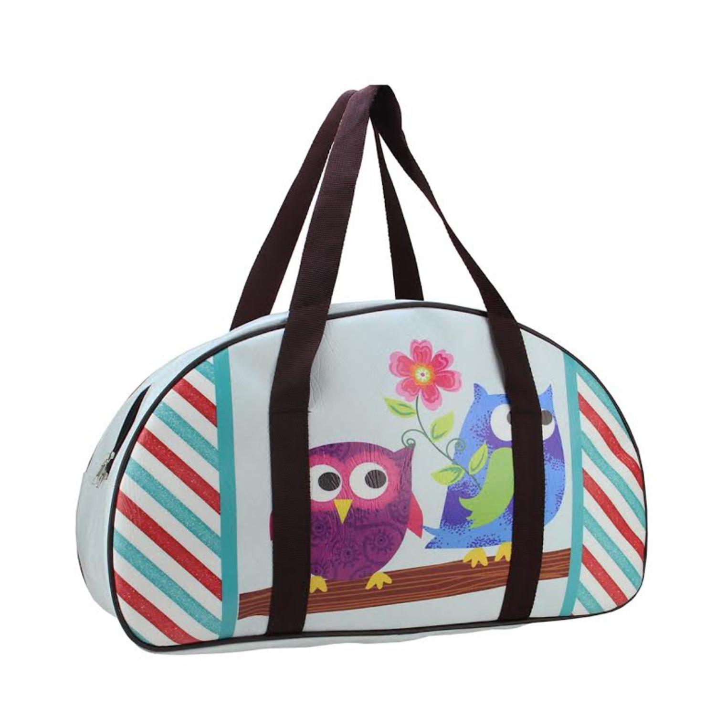 Owl main 20 Amis sac Design et à Sac Fleur Voyage décoratifs avec UqHB4
