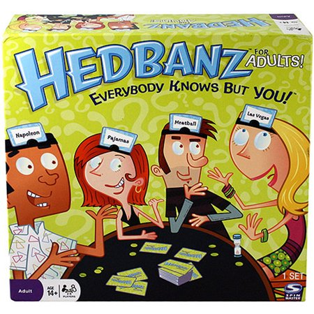 Spin master games hedbanz game for adults for Table games for adults