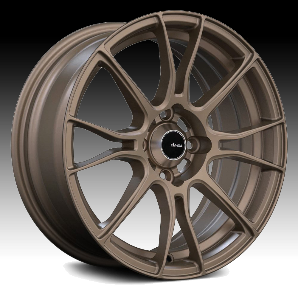 Advanti Racing S2 Storm S2 Matte Bronze 15x8 4x100 25mm (S258100258)