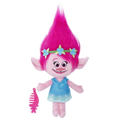 DreamWorks Trolls Poppy Talkin' Troll Plush Doll - Trolls Dreamworks