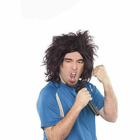 UK Funny Man/Rocker Wig Halloween Accessory (Funny Wig)