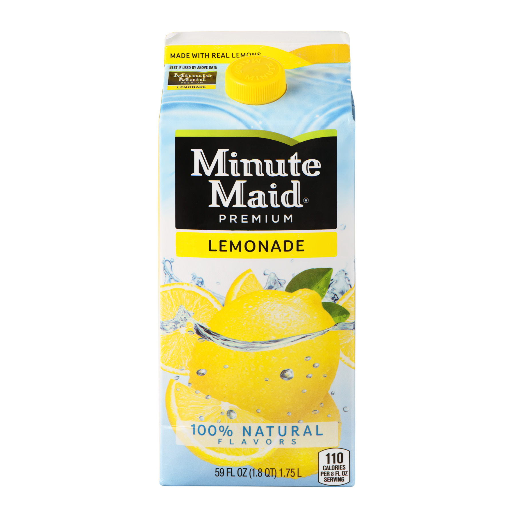 Minute Maid Premium Lemonade, 59.0 FL OZ