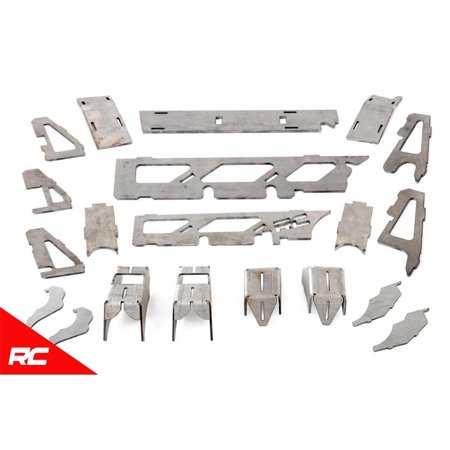 Rough Country Dana 30 Truss / Gusset Kit compatible w/ 2007-2018 Jeep Wrangler JK Dana 30 Front Axle